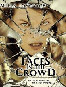 《人群中的脸》海报